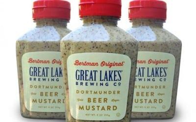 Great Lakes Brewing Company Partners with Bertman Original Ball Park Mustard