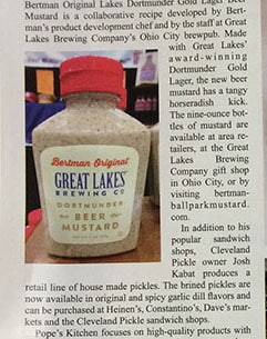 Beer Mustard Review – Currents Magazine Highlight