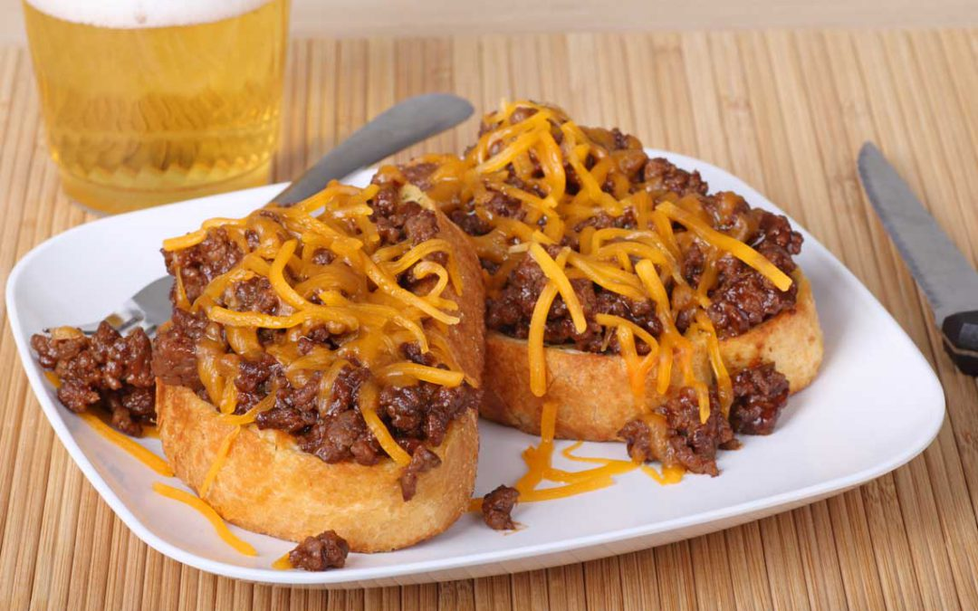 Bertman College Ballpark Sloppy Joes