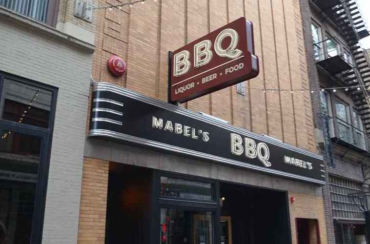 "USA Today - ""Mabel's has some of the best ribs in America"""