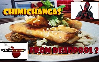 Chef Matt Stockman Creates 'Deadpool 2' Chimichangas with Bertman Guacamole