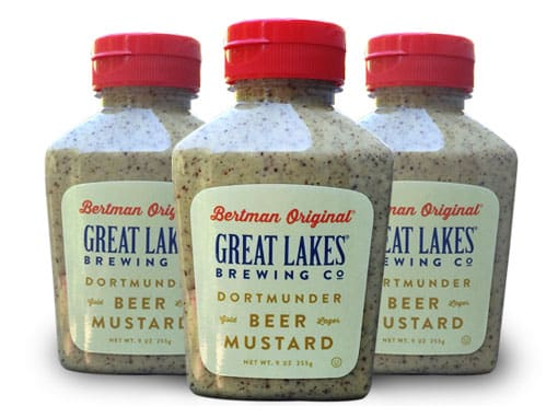Great Lakes Brewing Company Partners with Bertman Original Ball Park Mustard