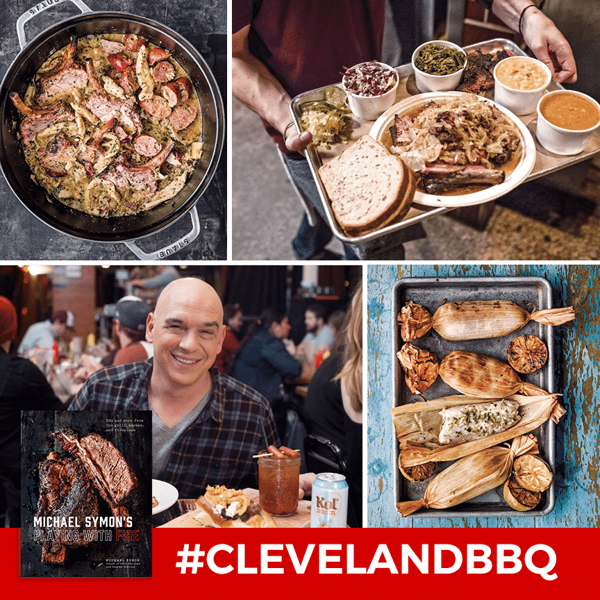 """Michael Symon's """"Playing with Fire"""" Book Featured on Cleveland.com"""