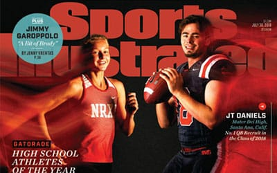 Bertman Featured in Sports Illustrated