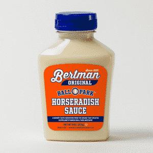 1 Case (12 ea) 9 oz. Bertman Original Horseradish Sauce