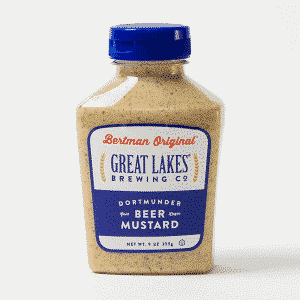 1 Case (12 ea) 9 oz. Great Lakes Brewing Co. Dortmunder Beer Mustard